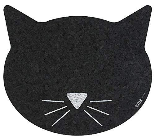 Petmat Recyl Rbr Zwart Kat Gezicht