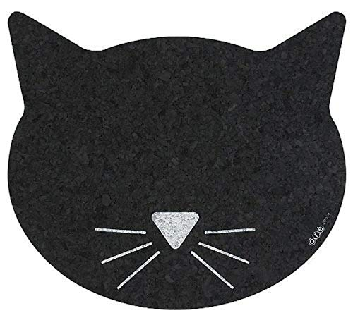 ORE Pet - Manteles Individuales de Goma reciclada con Cara de Gato
