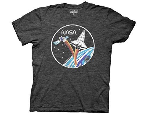 Ripple Junction NASA Adult Unisex Vintage Shuttle & Satellite Light Weight...