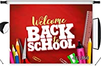 HD Back to School Backdrop Kids First Day of School Photography Background Pencil Book ackboard Customized Vinyl 10x7ft Photo Shoot Studio Props MG957