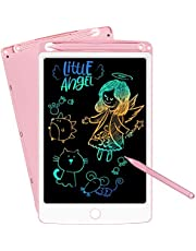NOBES LCD Writing Table, 8.5-Inch Color Electronic Writing Graffiti Board, Portable Mini Board Handwriting Tablet Drawing Board, Suitable for Children and Adults