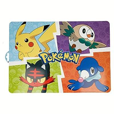 ALMACENESADAN 2153; Mantel Individual Pokemon; 43x29 cm; Producto de plástico; Libre BPA de Stor