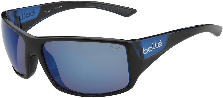 Bolle Tigersnake Matte Black Shiny bluee Polarized Offshore bluee Oleo AR, Shiny Black Matte bluee