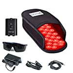 DGYAO® LED Red Light and Near Infrared Light Therapy Devices Slipper for Foot Pain Relief