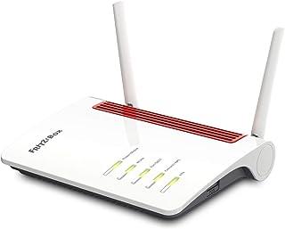 AVM Fritz!Box 6850 LTE International (LTE Modem, bis zu 150 MBit/s, WLAN AC+N bis 866 MBit/s (5 GHz) und 400 MBit/s (2,4 GHz), 4 x Gigabit LAN, 1x USB 3.0), geeignet für Österreich/Schweiz