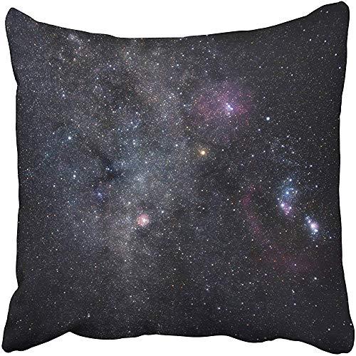 SSHELEY kussenhoezen hoezen diepe ruimte bevattende sterrenbeelden Orion Monoceros Gemini Heldere Nebulae en ster kussenslopen case cover kussen