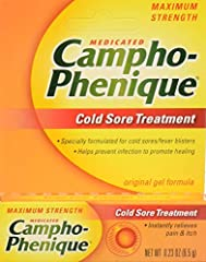Specially formulated for cold sores/fever blisters Instantly relieves pain & itch Helps prevent infection to promote healing For adults and children 2 years and over Store at room temperature