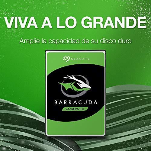 Seagate BarraCuda 2 TB Internal Hard Drive HDD – 3.5 Inch SATA 6 Gb/s 7200 RPM 64 MB Cache for Computer Desktop PC Laptop (ST2000DM006)