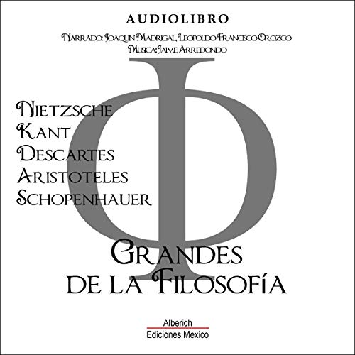 Grandes de la filosofia [Greats of Philosophy] Titelbild