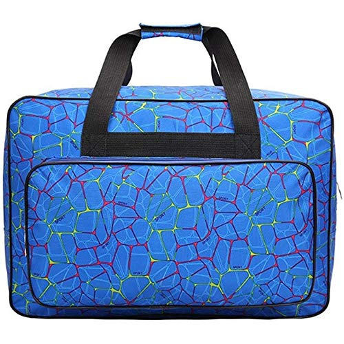 Senmubery, borsa portatile da viaggio, grande capacità, per macchina da cucire, borsa da cucito, 32 x 23 x 46 cm