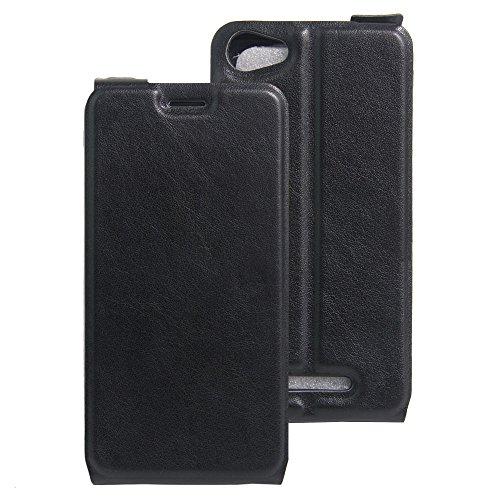 Litao-Case CN Hülle für WIKO K Kool hülle Flip Leder + TPU Silikon Fixierh Schutzhülle Case 7