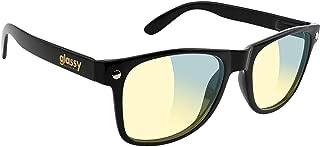 Glassy Sunhaters Leonard Gamers Black/Clear Sunglasses