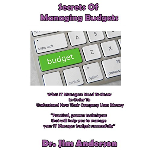 Secrets of Managing Budgets cover art
