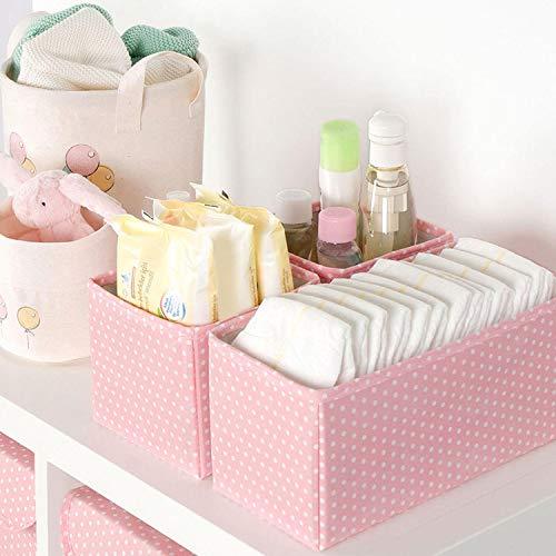 Ocean Home 3teilig Faltbare Schubladenboxen, Organizer Aufbewahrungsbox für Unterwäsche Krawatten...