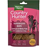 Country Hunter Natures Menu Superfood Bars Salmon & White Fish with Cranberries & Kelp (7 x 100g)
