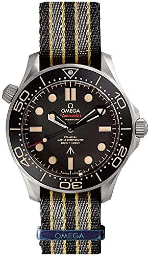 [オメガ] 腕時計 210.92.42.20.01.001 シーマスター オメガ コーアクシャル マスタークロノメーター 007エディション チタン/NATOストラップ ブラウン 300m防水 [並行輸入品]