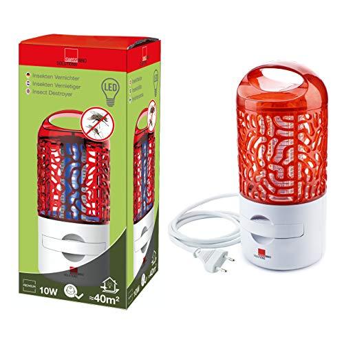 Swissinno Destructeur d'Insectes electrique LED 10 Watt Premium 1 245 001