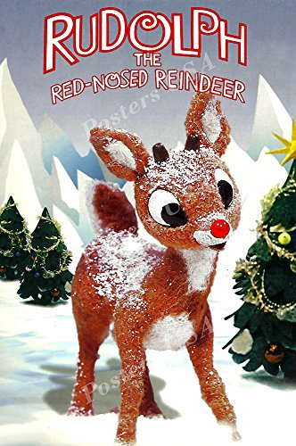 Posters USA Rudolph the Red-Nosed Reindeer Movie Poster GLOSSY FINISH - FIL723 (24' x 36' (61cm x 91.5cm))