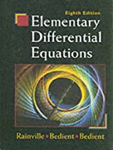 rainville and bedient elementary differential equations