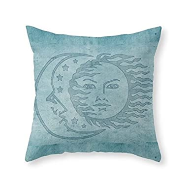 bag pack home Sun Moon And Stars Batik Throw Pillow Indoor Cover 18  x 18