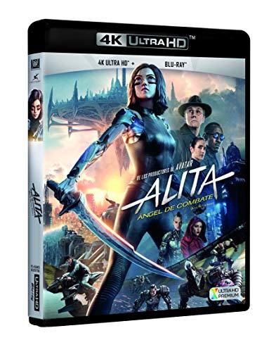 Alita: Ángel De Combate 4k Uhd [Blu-ray]