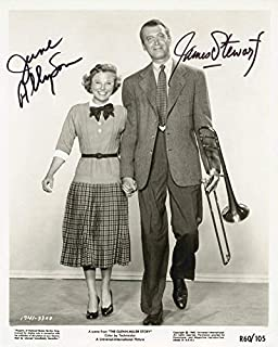 Glenn Miller Story Movie Cast - Photograph Signed co-signed By: James