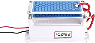 Roeam 7g//h Ceramic Ozone Generator Double Integrated Plate Portable Ozonizer Water Air Purifier for Chemical Factory