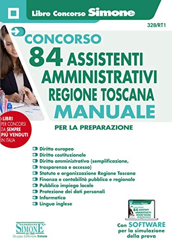 Concorso 84 Assistenti Amministrativi Regione Toscana - Manuale