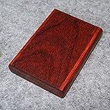 SXFYHXY Massive Holz Holz Zigarettenetui handgemachte kreative Retro Zigarettenetui 20 Sticks,9.5X7X2CM