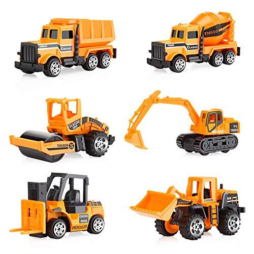 Kandall Coches de juguete, juguetes para niño de 1 año, coches de aleación premium para niños