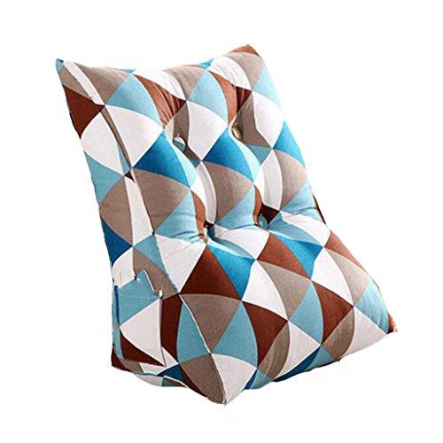 Goquik Kussenbed, sofakussen, zachte tas, kantoor, lendenrug, nekkussen, zacht en comfortabel fauteuil, niet vermoeide PP-katoen, 3 kleuren, 2 maten