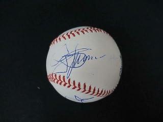 KISS Signed Baseball Autograph Auto W02834 Gene Simmons Paul Stanley - PSA/DNA Certified - Autographed Baseballs