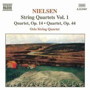 NIELSEN, C.: String Quartets, Vol.  1