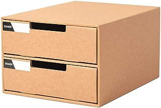 Calayu Selbstklebende Schreibwaren Bleistiftschublade Pop-up Bleistift Organizer Make-up Organizer unter Schreibtisch Schublade Aufbewahrungsbox