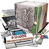 caccia al tesoro in scatola - il caveau della banca - 8-10 anni - per feste di compleanno - giochi per bambini