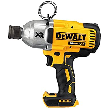 DEWALT DCF898B 20V MAX XR Brushless High Torque Impact Wrench with QR Chuck (Bare), 7/16