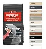 Lugato Sicherheitsfuge Flexibel 1 kg silbergrau - Fugenmörtel