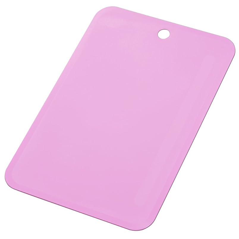 コンパスラボ繁雑トンボ 柔らか まな板 L 36.5×24.5×0.3厚cm スウィーツシート ピンク