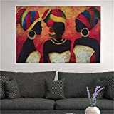 Puzzles For Adults, 1000 Piece Jigsaw Puzzles, Vintage Africa Woman Diy Puzzles 50x75cm