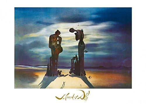 Salvador Dalí Poster/Kunstdruck Reminiscence archeologique 70 x 50 cm