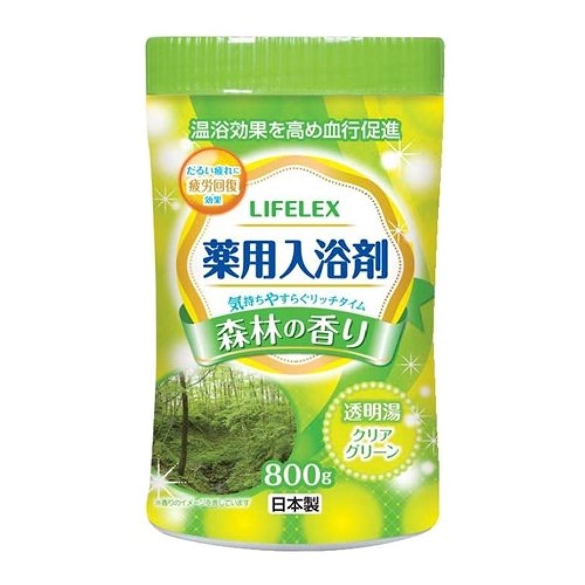 特殊クリーク豪華なコーナンオリジナル 薬用入浴剤 森林の香り 800g