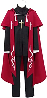 TISEA Fate Red Archer Outfit Apocrypha Master Shirou Kotomine Cosplay Costume