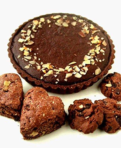 cerneau(セルノー) タルト・ショコラセット 【タルト・ショコラ1個、ココア・ココナツスコーン2個、サブレ・ショコラ4個】