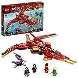 LEGO-Le superjet de Kai Ninjago Jeux de Construction, 71704, Multicolore