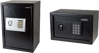 Digital Safe – Electronic, Extra-Large, Steel, Keypad, 2 Manual Override Keys by Stalwart & Safe – Electronic Steel Safe w...