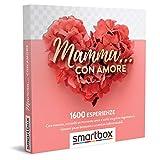 Smartbox - Mamma... con Amore - Cofanetto Regalo per Uomo o Donna, 1 Sfiziosa Degustazione, 1 Esperienza Relax o 1 Attività di Svago per 1 o 2 Persone, Idee...