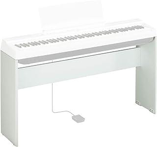 Yamaha L-125WH soporte para piano digital - Soporte robusto y duradero en un diseño simple - Adecuado para el piano digital P-125 de Yamaha, blanco