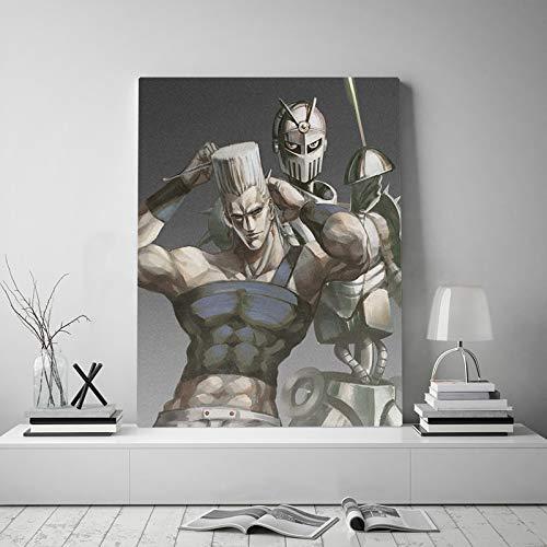 PLjVU Carro de Plata Lienzo póster Pintura Arte de la Pared decoración Sala de Estar Dormitorio Estudio decoración del hogar impresión-Sin marco45X60 cm