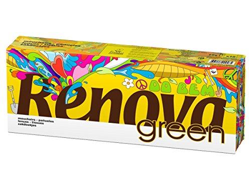 Renova Pañuelos de Bolsillo Blancos Ecológicos - 10 Paquetitos