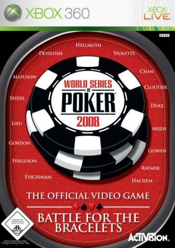 Activision World Series of Poker 2008 - Juego (Xbox 360, DEU)